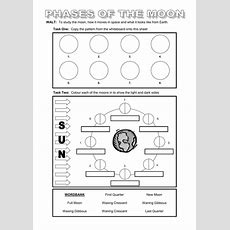 Powerpoint And Worksheet On The Moon By Dazayling  Teaching Resources