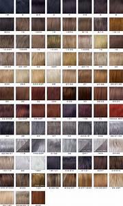 Hair Color Chart Revlon