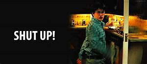 Harry Potter Shut Up GIF - HarryPotter Angry Anger ...