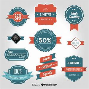 Vintage badges for high quality products Vector   Free ...