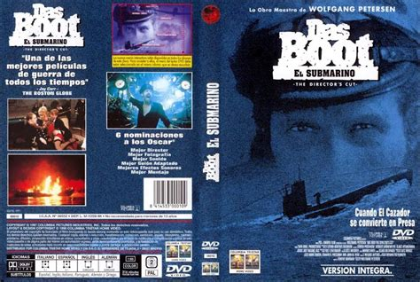 Boat Dvd by Das Boot El Submarino 1981 187 Descargar Y Ver