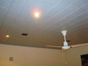 Pose De Lambris Pvc Au Plafond : lambris pvc au plafond sur platre ~ Premium-room.com Idées de Décoration