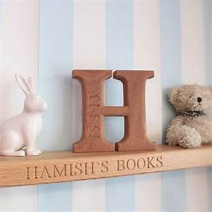 personalised christening and new born letter by house of With personalised wooden letters
