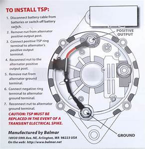 Balmar  U0026quot Zapstop U0026quot  Transient Spike Protector For 24 Volt