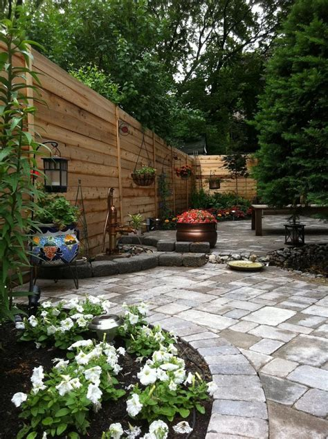 Patio In The Garden by 18 Inspirational And Beautiful Backyard Gardens Page 2 Of 4