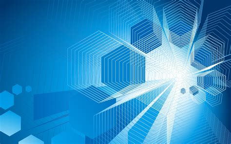 Digital Wallpaper Design by Geometry Simple Background Blue Background Abstract