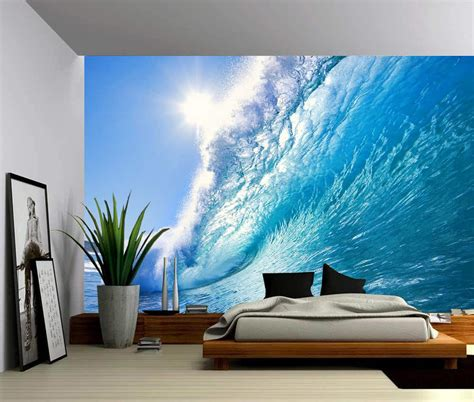 Wall Murals by Wave Wall Mural Picture Sensations