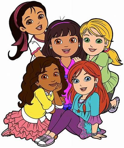Friends Cartoon Clipart Dora Friend Clip Friendship