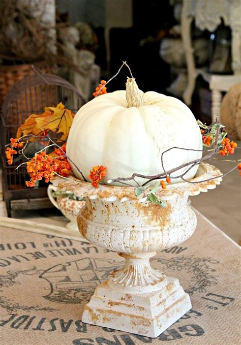 pumpkin decor ideas  home fall decor digsdigs