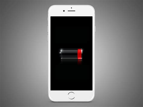 iphone displays the low battery image and is unresponsive don t neglect updates how to increase your iphone s