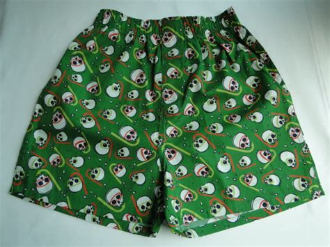 Boy's Green Snorkles & Blue Skull 2 Pack Of Boxers