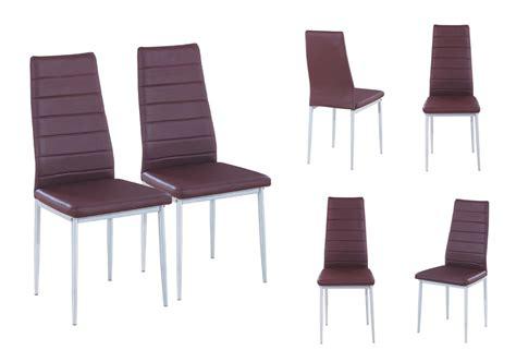 chaises salle à manger cuir chaise de salle a manger en cuir pas cher