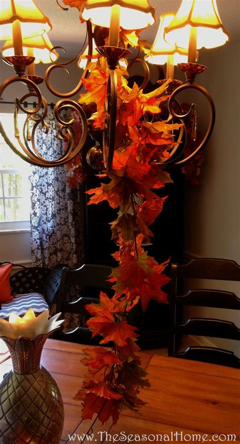 ideas for chandeliers 3 chandelier ideas for fall thanksgiving