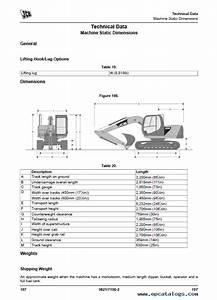 Download Jcb Js85 Tracked Excavators Service Operator Manuals Pdf