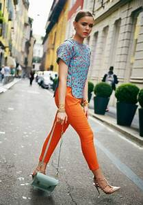 1000+ ideas about Orange Pants Outfit on Pinterest | Peach pants outfit Coral jeans outfit and ...