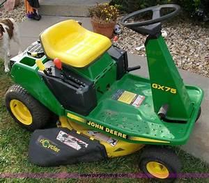 John Deere Gx75 Lawn Mower