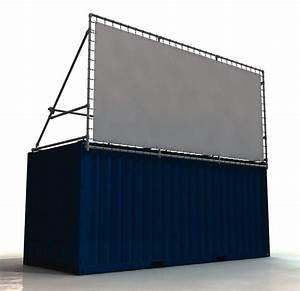 20 Fuß Container In Meter : containerrahmen lange seite oben vorges bannerrahmen stecksystem 5800 x 2660 mm neeb ~ Frokenaadalensverden.com Haus und Dekorationen