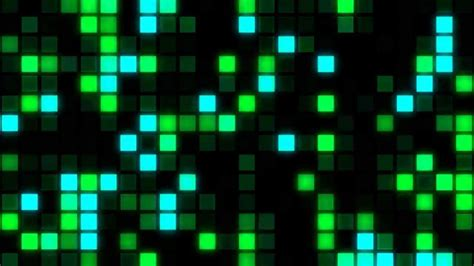 videogame background  footage hd big green square