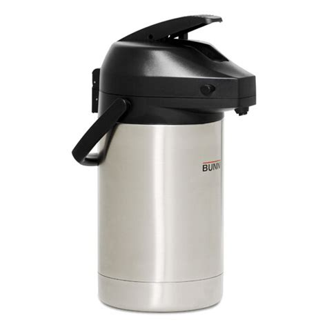 For a similar kettle, consider the hario buono drip kettle ($52 at amazon), which allows you to effectively control your pour. Airpot, Bunn, 2.5 liter lever top