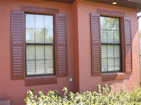 window shutters exterior depot blinds wooden