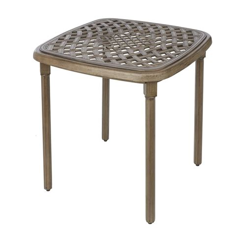 hton bay cavasso square metal outdoor bistro table 171