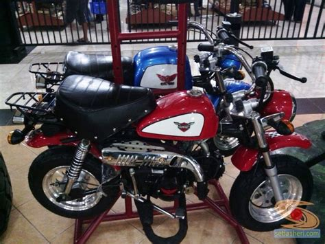 Gazgas Monkey 110 Modification by Lebih Dekat Dengan Si Motor Mini Gazgas Gorilla Dan