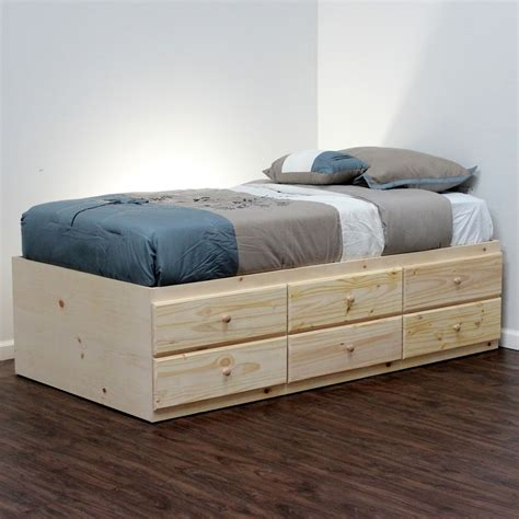 Beds With Drawers by Awesome Bed With Drawers Underneath Homesfeed