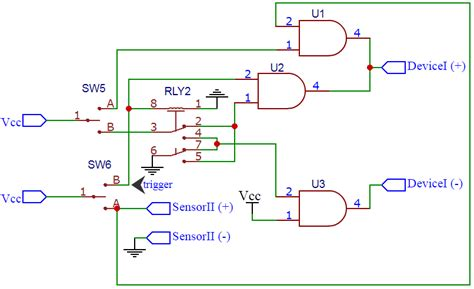 Replacing Two Corresponding Switches One With Logic