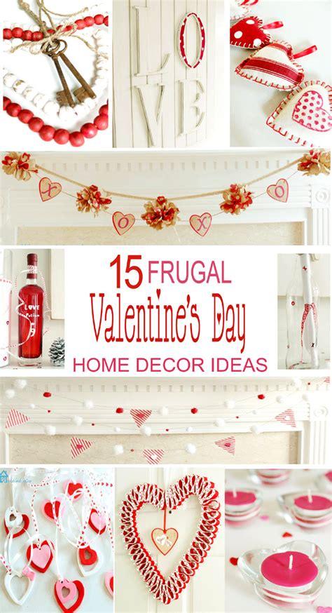 15 Frugal Valentine's Day Home Decor Ideas Remodelando