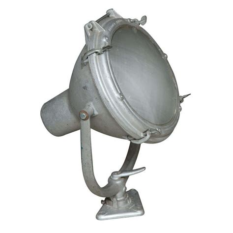 crouse hinds lighting vintage nautical spot light by crouse hinds at 1stdibs
