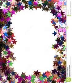Glitter Star Border