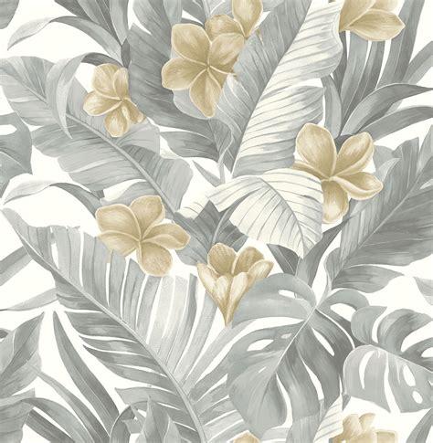 nuwallpaper neutral paradise peel stick wallpaper
