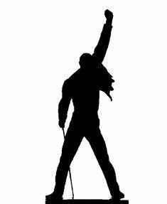 freddie mercury silhouette - Google Search | mirror ...