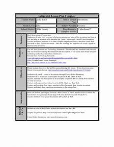 integrated lesson plan template 28 images integrated With integration design document template