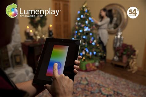 app controlled string lights apple stores now sell these iphone app enabled christmas