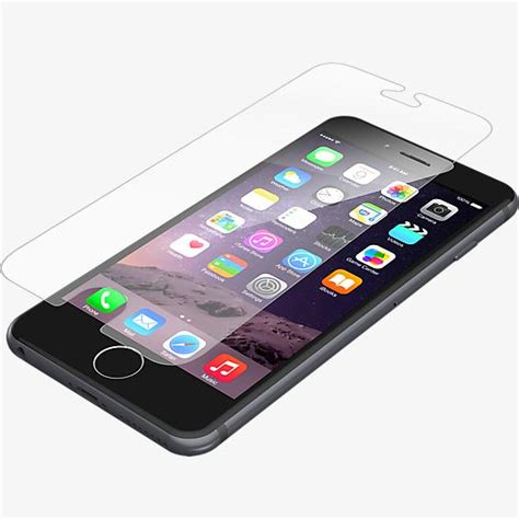 zagg iphone 6 zagg invisibleshield glass for iphone 6 6s verizon wireless