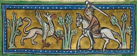 cornici medievali i bestiari medievali milanoplatinum
