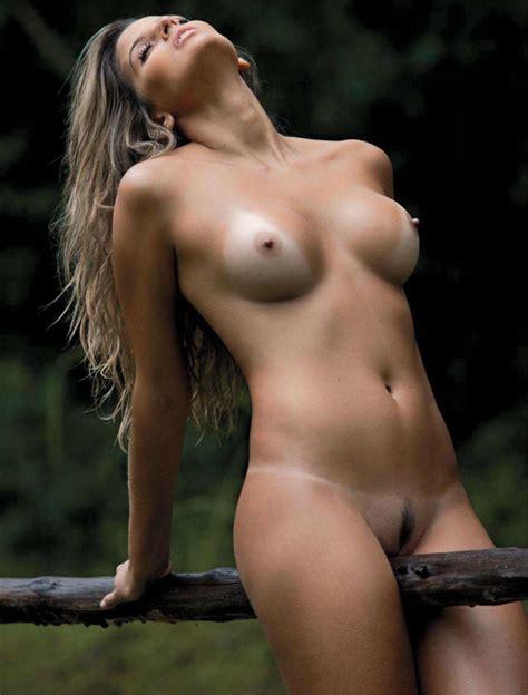 Naked Mari Paraíba in Playboy Magazine Brasil