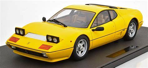 Vind fantastische aanbiedingen voor die cast ferrari. Details about Top Marques 1981 FERRARI 512 BBI YELLOW 1/12 Scale LE of 250 | Ferrari, Diecast ...