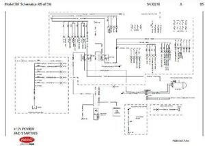 Wiring Diagram 2001 Isuzu Cabover Truck by Before Oct 15 2001 Peterbilt 387 Complete Wiring Diagram
