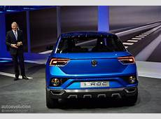 Volkswagen TRoc Concept Hints at Future Crossover [Live