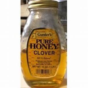 Gunter's Pure Clover Honey: Calories, Nutrition Analysis ...