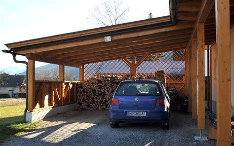carports carports holzbau hubmann carport garage