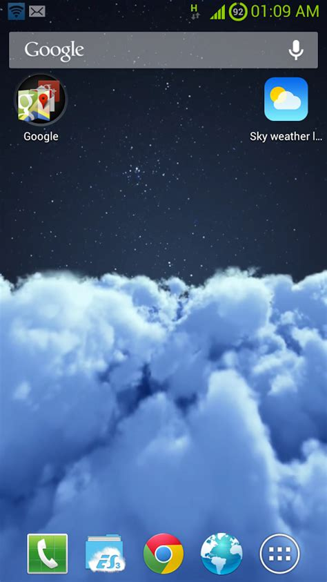 Animated Weather Live Wallpaper - weather wallpaper app gallery