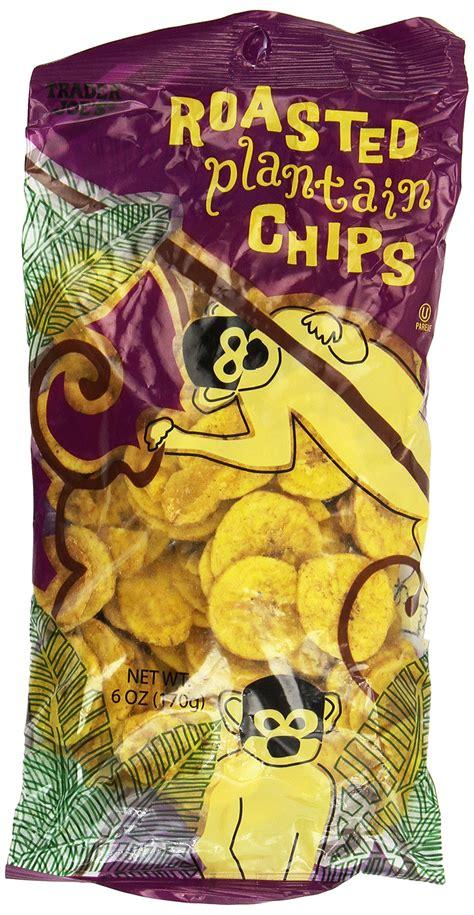 Amazon.com: Trader Joe's Roasted Plantain Chips 6oz (Pack