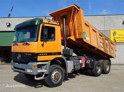 The v6 version tops £46,000, though. MERCEDES-BENZ ACTROS 3335 6X6 dump truck for sale Belgium Willebroek, AW16435