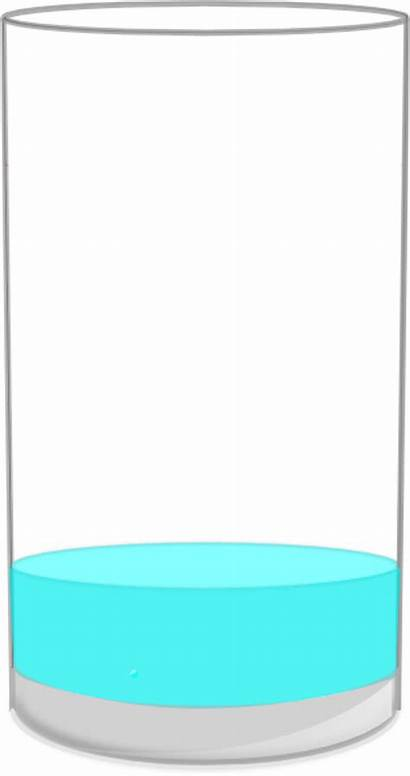 Empty Glass Almost Cup Clipart Clip Clker