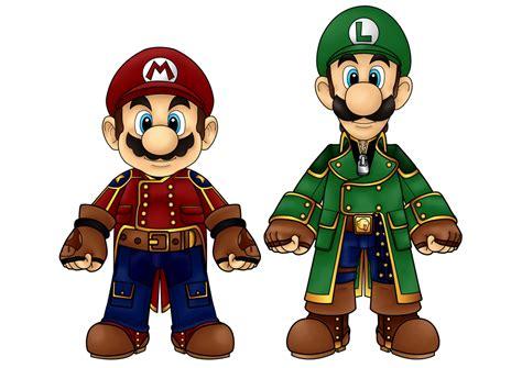 Mario And Luigi By Cosmicthunder On Deviantart