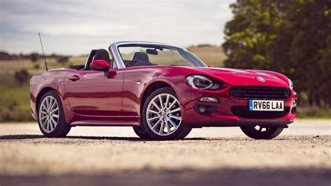 whats living   fiat  spider  top gear