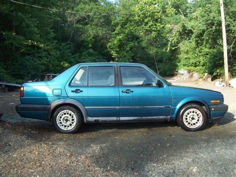 Buy Used Turbo Diesel 1992 Vw Jetta For Parts Or Repair
